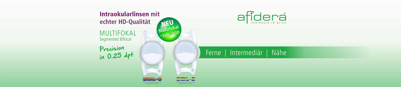 Segemented Bifocal Lens - Multifokallinse mit ADD 3.0 oder ADD 2.0