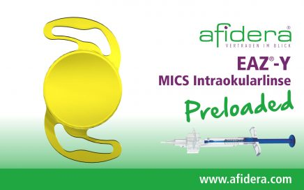 EAZ®-Y MICS Intraokularlinse preloaded