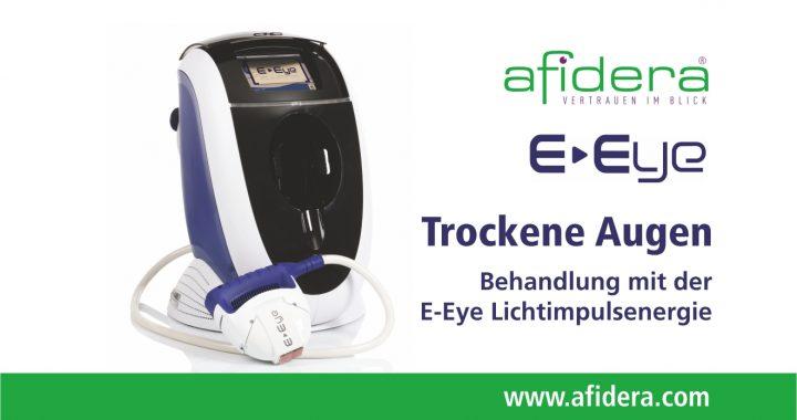 E-Eye Behandlung gegen trockene Augen