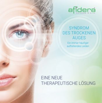 Eine technologische Lösung zur Behandlung des trockenen Auges.