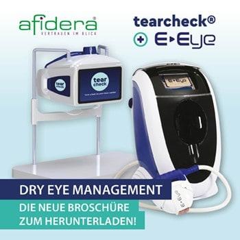 Broschüre zur Behandlung und Diagnostik für trockene Augen