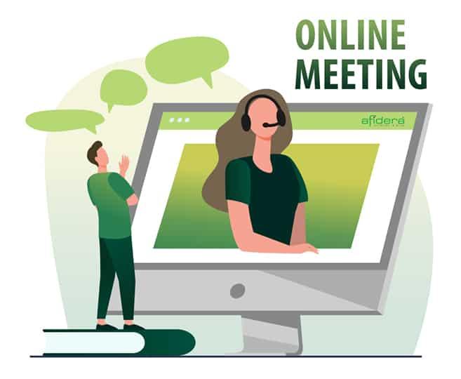Online Meeting Behandlung trockene Augen und Premium-Intraokularlinsen